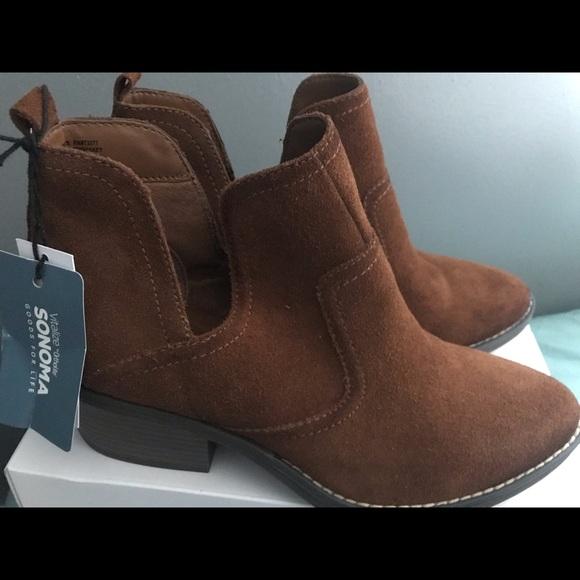 Sonoma Shoes   Genuine Suede Vitalize